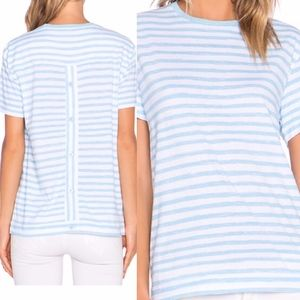 Marc by Marc Jacobs Sketch Stripe Button Back Top
